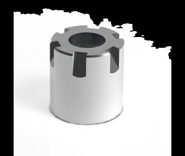 CN-ER16-MNC: Nut-Mini ER16 For Coolant Disc, Thread - M19x1.0