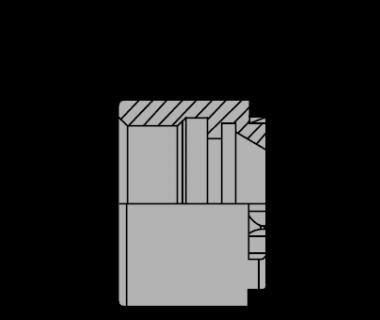 EZR08-NUT: EZR 08 Mini Nut Standard