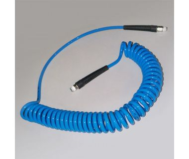 MiJET® Spiral air hose with swivel end fitting