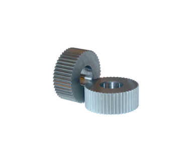KDS-EPSV-225COF:  Knurl, EP, 225 / 25 TPI, Straight Tooth, .500 x .187 x .187, Convex