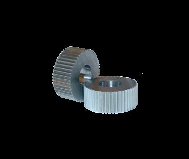 KDS-KPSV-096COF:  Knurl, KP, 096 DP / 0.83mm, Straight Tooth, .750 x .375 x .250, Convex