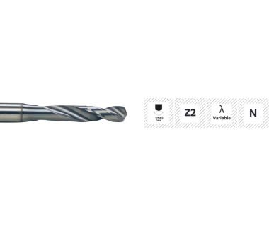 TD-370-2.50:  2.5mm Expert Carb Drill for SS/Inox