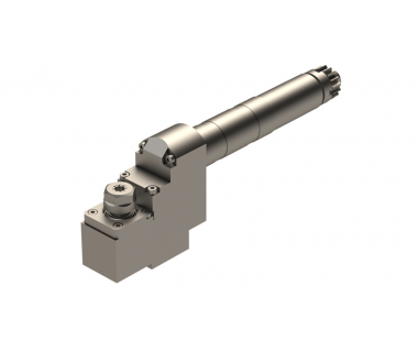 CIT-GSE707: Live Z axis spindle, Single ended uses ER11 Collets and max drilling depth .409 ''