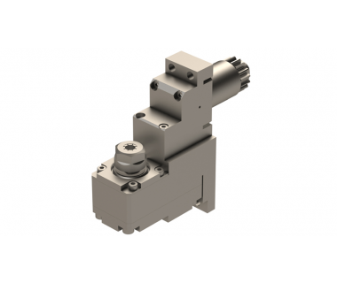 CIT-GSE2107:         90° Front Face Drill-Mill Spindle ER11, I/O Ratio 1:1 for Citizen K16