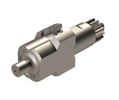 CIT-MSC507-4X: 0° Driven Tool Holder High Speed, ER8, I/O= 1/3.8, Drive - Ø25x45.8L