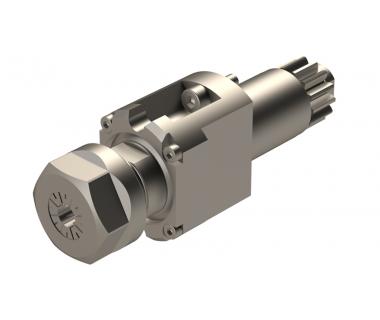 CIT-MSC513: 0° Driven Tool Holder For Drilling-Milling, ER20, I/O= 1/1, w/hex nut