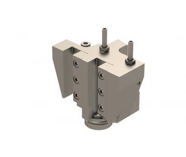 CIT-CTF1116-D: Turn Holder (2) Position for Y 16mm Sq. Shank, non adj, w/Ext Coolant Del. Short Bloc