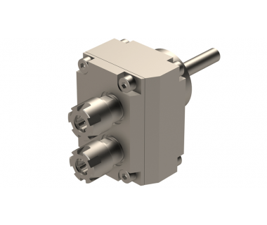 STA-SR10J-GSC-E11-2X-DEC: Double Radial Driven Holder ER11, Shifted