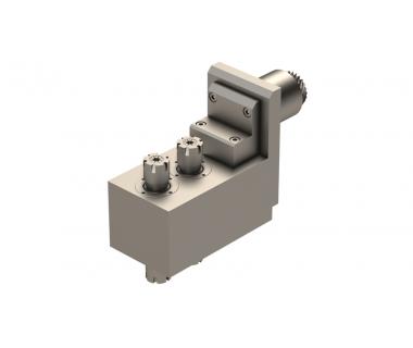 STA-SV20-TSE-010:  90° Face Drill/Mill, Double Ended, ER16, I/O= 1:1