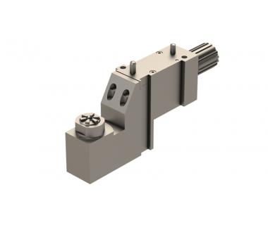 TOR-DE10-0011:  Tool Holder 90 Degree ER11, Tornos DECO 10