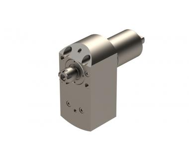 TSU-S20-RSC-107-3x:   0° driven tool holder ER11, RPM I/O Ratio 1:3, Tsugami S206 Front Tool Post