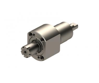 TSU-BO7-GSC-110: 0° Driven toolholder ER16, I/O=1/1