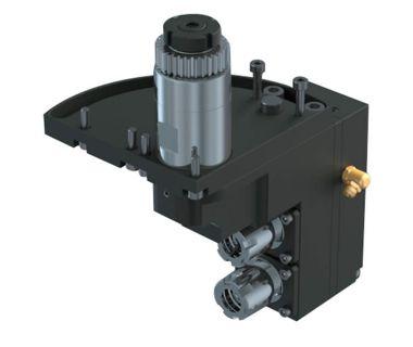 STA-5540-000123 2-spindle drilling/milling unit ER16, Angle adj. 0~90°