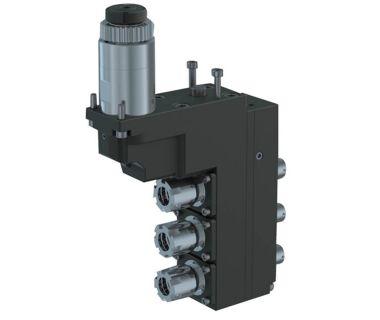 STA-R623131-DE-3E16-11 3-spindle double drilling/milling unit ER16/ER11