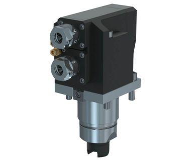 TSU-5540-000241 Radial drilling/milling unit, 2 spindle ER20