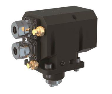 MIY-5540-000389 Radial drilling/milling unit, 2 spindle ER16
