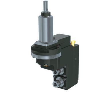 HAN-5540-000435 2-spindle drilling/milling unit ER11, Angle adj. ±90°