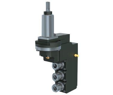 HAN-5540-000436 3-spindle drilling/milling unit ER16, Angle adj. ±90°