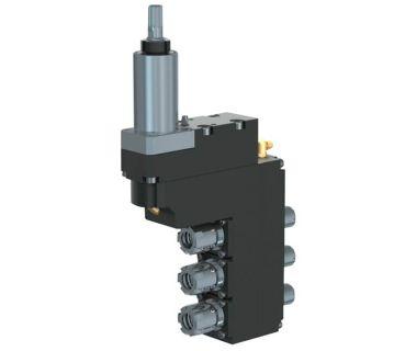 HAN-5540-000438 3-spindle double drilling/milling unit ER16/ER11