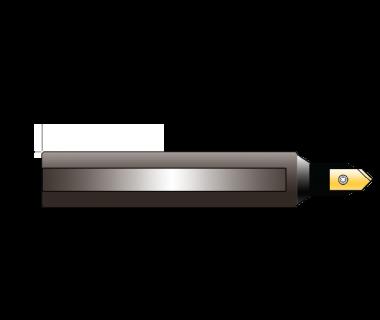 "SDH-2-0375-2.5:  #2 Insert Spot Drill Holder .375 dia. shank x 2.5"" OAL"