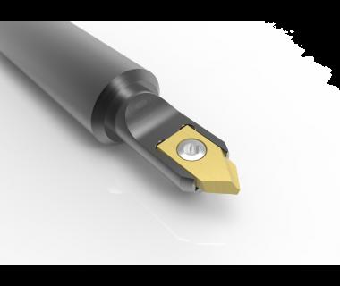 "SDH-3-1000-5.0: #3 Insert Spot Drill Holder  1.00 dia. shank x 5.0"" OAL"